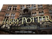 2 x Harry Potter and Cursed Child Stalls Tickets 6th - 7th July (Part I and Part II) - both tickets