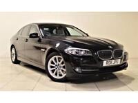 BMW 5 SERIES 3.0 530D SE 4d AUTO 242 BHP + 2 PREV OWNER FROM NE (black) 2011
