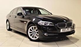 BMW 5 SERIES 3.0 530D SE 4d AUTO 242 BHP (black) 2011