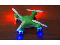 BNIB CHEERSON CX-10A CX10 GREEN MINI DRONE 2.4G 4 CH 6 AXIS LED RC QUADCOPTER.⭐️
