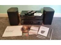 Denon stereo system (almost new)