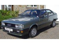 Classic Audi Coupe 1983