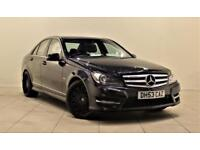 MERCEDES-BENZ C CLASS 2.1 C250 CDI BLUEEFFICIENCY SPORT 4d AUTO 202 BHP (black) 2011