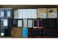 Various Portable Battery Packs