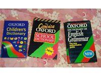 Dictionaries for Sale-Children's, School, English Grammar