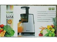 BRAND NEW BIOCHEF Atlas SLOW / MASTICATING Living Juicer RED 150Watts Whole Cold Juicer
