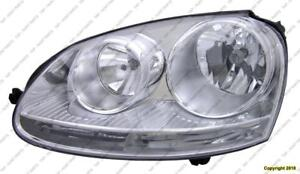 Head Light Driver Side Gti Gen 5 Volkswagen GTI 2006-2009