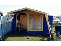Large 6 birth frame tent only used twice