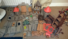 Playmobil Castle and Figures - many items