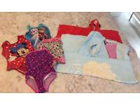 Swimming bundle 2-3 years - swimsuits & towels
