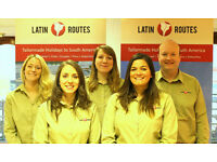 Travel sales consultant for South America