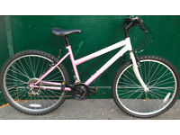 17 Challenge Dreamer MTB pink ladies bicycle mountain bike cycle