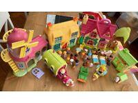 Fantastic set of Happyland toys