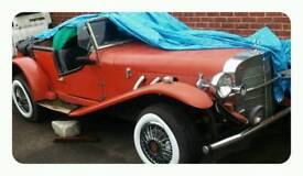 Mercedes ssk 1929 replica kitcar