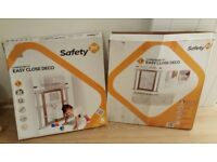Safety First Pressure Fit Child Gate Boxed X 2