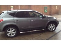 NISSAN MURANO,4X4,SUV,JEEP,AUTO,bargain reduced for quick sale,NEW MOT,leather,sun roof,4WD,SAT NAV