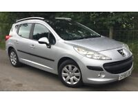 Peugeot 207 SW Estate 1.4 VTi Sport 5dr Full Panoramic Roof, Cheap Car To Run, SAVE £££'s Cheap Car!