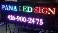 Custom LED Programmable Scroll Message Signs