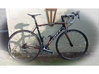 Scott CR1 Team Carbon Fibre Road Race Bike Full Shimano 105 20 speed carbon upgraded kit
