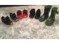 Boys shoes & Boys clothes sizes 12-18-24 1-2 years