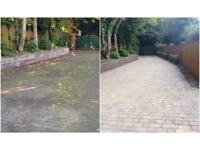 Driveway, Patio, Path Cleaning And Sealing Pressure Jet Washing Merseyside Wirral Liverpool