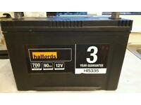 Halfords Car Battery like new! Never used