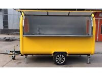 Catering Trailer - Bright Yellow 2.2m long just £4500