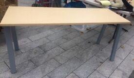 OFFICE WOOD/METAL TABLE