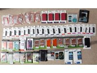 Phone Accessories Job Lot Bundle Cases, Screen Protectors, Battery Car Boot Market Resale
