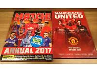 Match Annual and Manchester United Man Utd Annual 2017