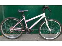17 Challenge Dreamer MTB pink ladies bicycle mountain bike cycle