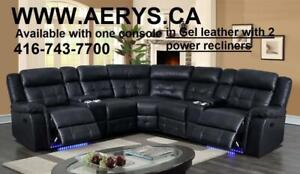 FURNITURE WAREHOUSE LOWEST PRICE WWW.AERYS.CA call 4167437700 sectional starts from $295  We also Carry Ashley Furniture