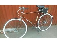 Vintage raleigh town bike in great condition
