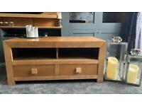 Oak TV Cabinet/Media Unit