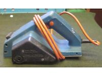"""ELECTRIC PLANER A """"BLACK& DECKER"""" Corded/240v Electric Planer. Used but still in good working order"""