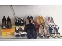 New and used lady's shoes