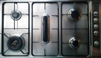 Blanco Built-in Cooktop, 5x Burner, 90cm