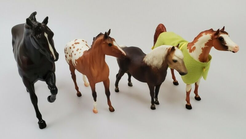 Bryer Horses Lot of Four