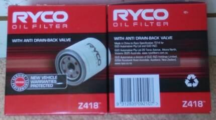 2 x New Hilux/ Prado Ryco Z418 Oil Filters BNIB