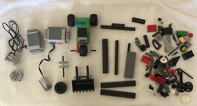 Lot Of Lego Power Battery Box Motor  Control Switch And More  Pieces
