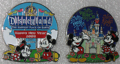 Disneyland New Year Eve 2008 + Happy New Year 2009 DLR Cast Member Exclusive ()