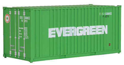 H0 Container 20 Fuß Evergreen -- 8002 NEU