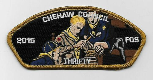 "BSA CSP Chehaw 2015 ""THRIFTY"" FOS"