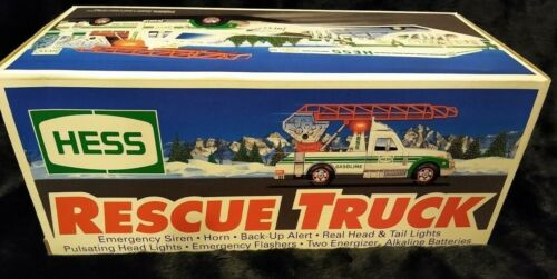 Vintage 1994 Hess Rescue Truck With Box NEW