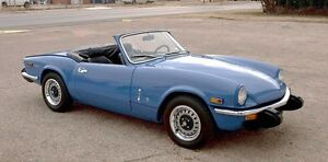 Wanted: Chrome Triumph Spitfire Bumpers
