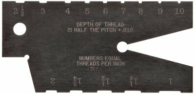 Starrett 284 Acme Standard Screw Thread Gauge