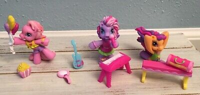 My Little Pony * Starsong * Pinkie Pie * Scootaloo Cake * Topper Figure Lot