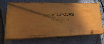 Standard Gage Company Bore Gage Case No 2  Box Only With 4 Extensions