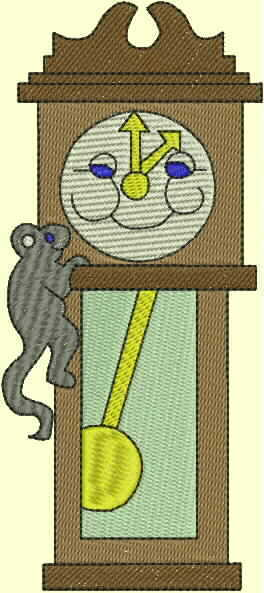 nursery rhyme machine embroidery designs