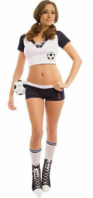 Football Player Costume Outfit Soccer Uniform Elegant Moments 9939 Last Large](Soccer Costumes)